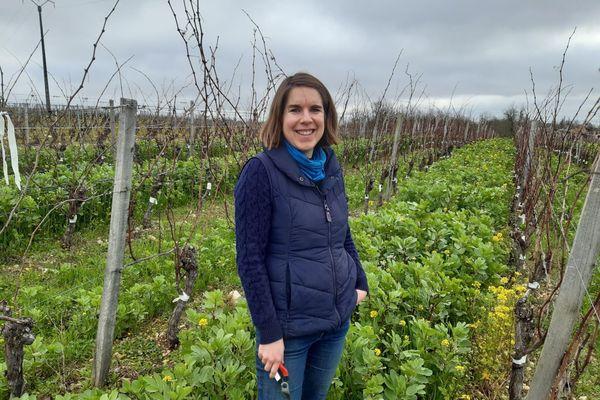 Maya Sallée, vigneronne au Domaine La Calmette à Cahors