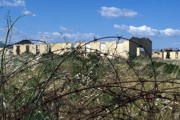 Les baraques du camp de Rivesaltes. Archives.