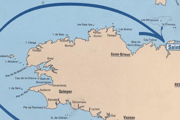Carte du record SNSM