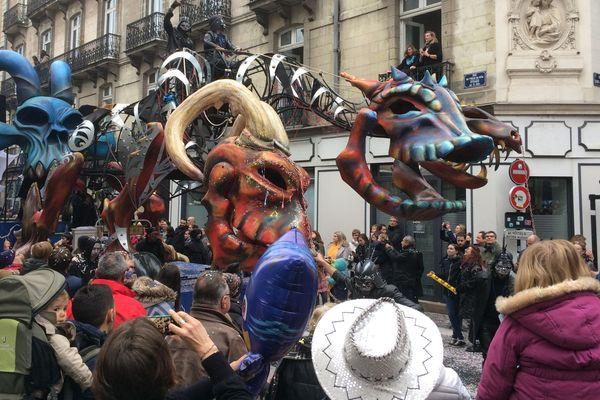 Le carnaval de Nantes, le 7 avril 2018