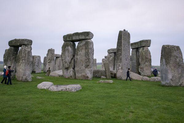 Le site de Stonehenge dans le sud de l'Angleterre.
