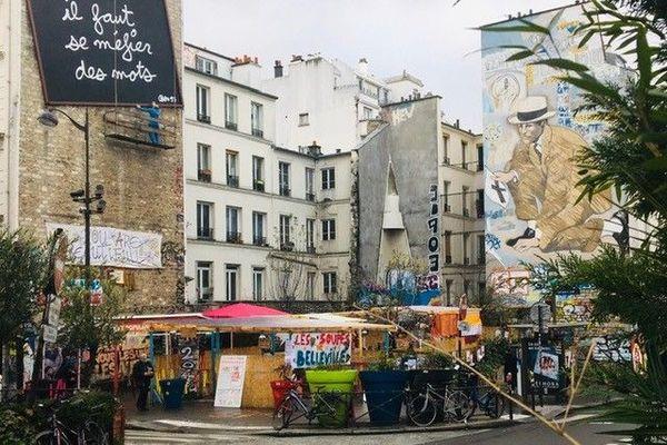Place Fréhel à Paris
