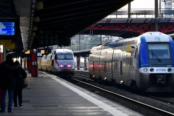 Vendredi 10 janvier, pour le 36e jour consécutif de grève des cheminots, le trafic SNCF est perturbé en Auvergne-Rhône-Alpes.