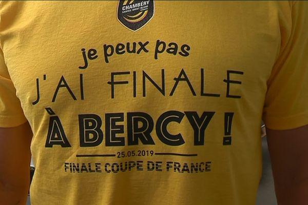 Les Chambériens seront derrière leur équipe ce samedi pour la finale de la coupe de France de Handball