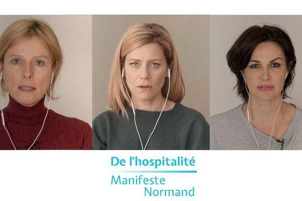 De l'hospitalité : Le manifeste normand signé par Karin Viard , Marina Foïs et Helena Noguerra