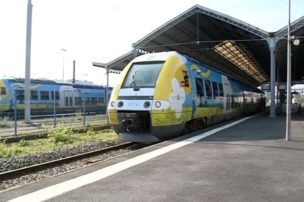Ce lundi matin, seuls six TER ont pu partir de Champagne-Ardenne.