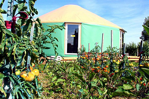 Un habitat traditionnel d'Asie centrale débarque à Hantay, dans le Nord.