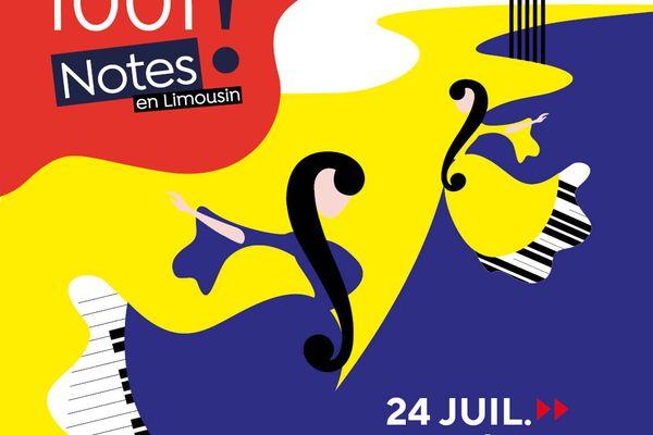 Festival 1001 notes en Limousin