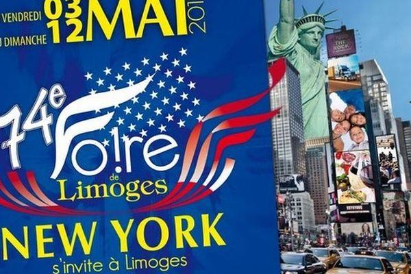 L'affiche de la 74ème Foire Expo