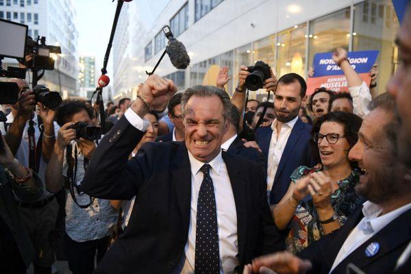 En Paca, le président sortant LR Renaud Muselier prive le RN de sa seule région avec une victoire confortable, au soir du second tour des élections régionales, dimanche 27 juin 2021.