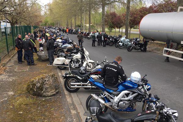 300 motos à Brive