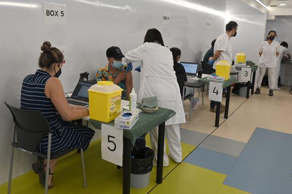 La province espagnole de Catalogne est en train de juguler la 5ème vague de contaminations au Covid, avant tout grâce à la campagne de vaccination. juillet 2021.