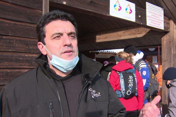 Patrick Marchand, gestionnaire de la station du Col de la Loge.