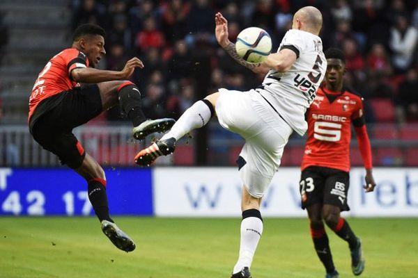 Nicolas Pallois lors du match contre Rennes le 22 novembre 2015