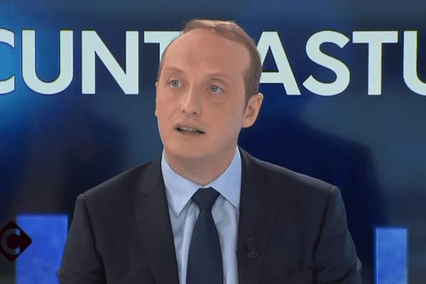 29/01/2017 - Le député-maire d'Ajaccio, Laurent Marcangeli, invité de Cuntrastu