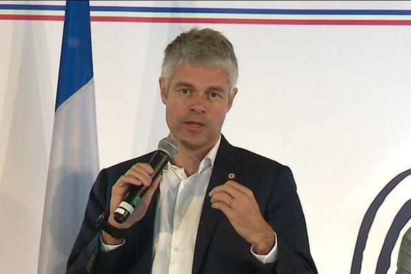 Laurent Wauquiez Président LR de la Région Auvergne Rhône-Alpes