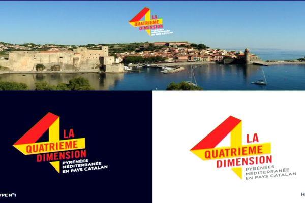 Visuel promotionnel de la nouvelle marque de communication touristique des Pyrénées-Orientales