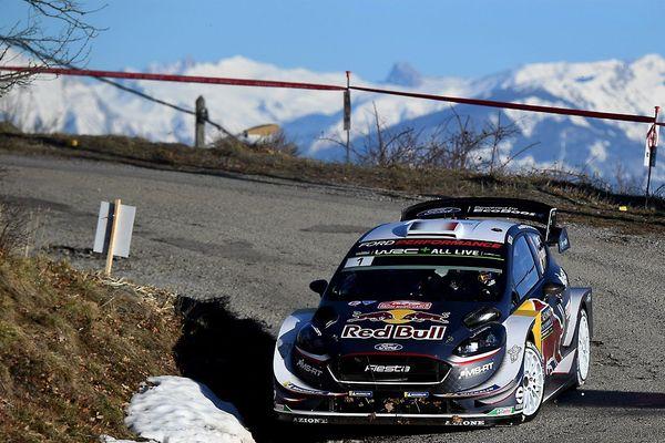 Au volant de sa Ford, Sébastien Ogier a remporté jeudi soir les deux premières spéciales du rallye Monte-Carlo 2018.