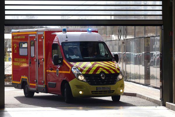 Sortie de véhicules de pompiers