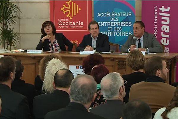 La Région Occitanie, le Département de l'Hérault et la CCI Hérault se mobilisent à nouveau en faveur des commerçants des centres-villes