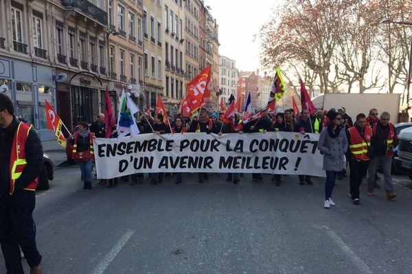 ARCHIVES Manifestation à lyon le 5 fevrier 2019