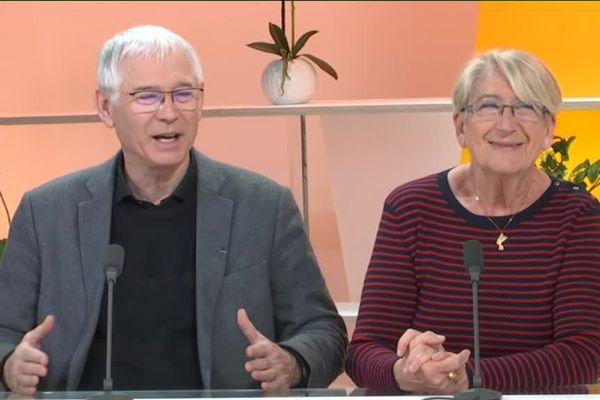 Jean-Marc et Martine Thérouanne, les fondateurs du FICA à Vesoul.
