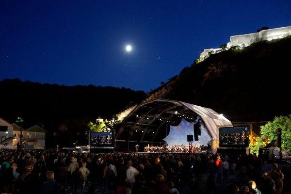 Le concert se tiendra au pied de la citadelle de Besançon