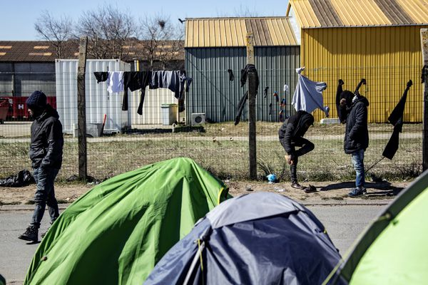 Photo prise à Calais, le 31 mars 2020.