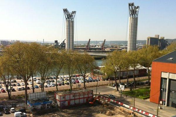 Le quartier au pied du pont Flaubert comptera 1000 logements et des activités économiques