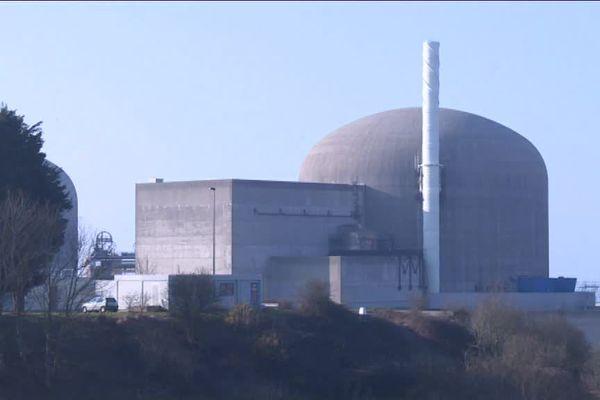 Un des réacteurs de la centrale nucléaire de Paluel (Seine-Maritime)