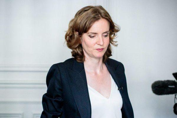 Nathalie Kosciusko-Morizet, en conférence de presse, lors de la campagne des primaires de la droite et du centre.