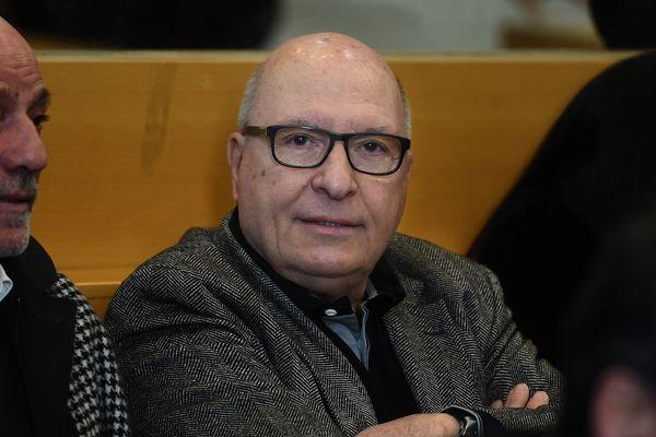 Jacques Cassandri, cerveau supposé du casse de la Société Générale de Nice.