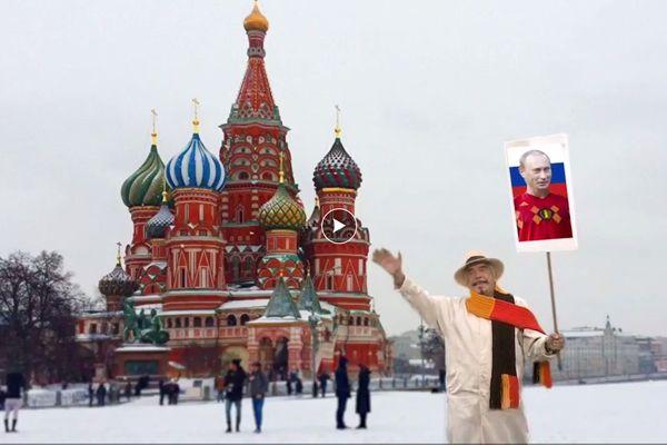 Vladimir Poutine aux couleurs belges...