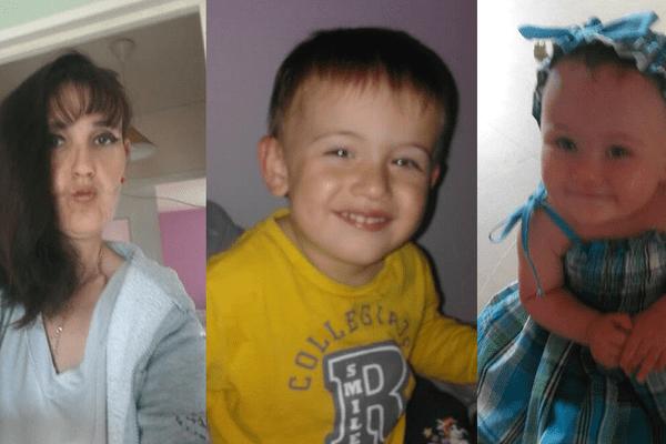 La mère de famille et ses deux enfants n'ont plus donné signe de vie depuis le vendredi 4 août.
