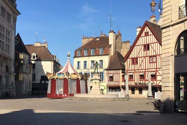 La place François Rude, à Dijon.