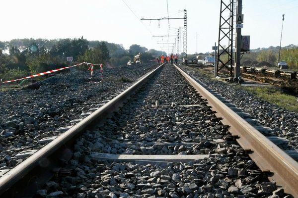 Les travaux ferroviaires interrompent la circulation sur certaines lignes pendant tout le weekend de la Pentecôte. Photo d'illustration (octobre 2019)