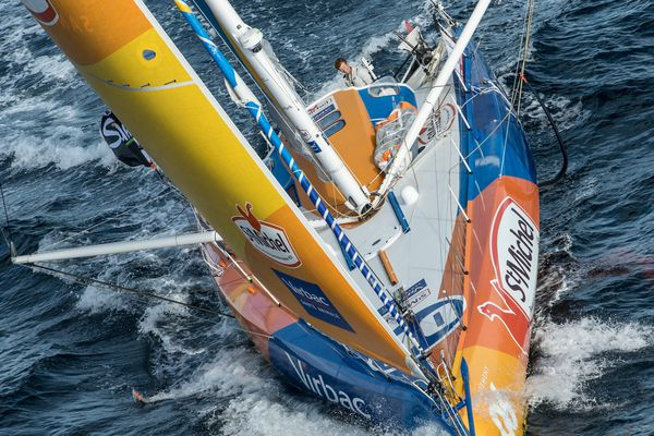 JP Dick est arrivé quatrième du Vendée Globe 2016
