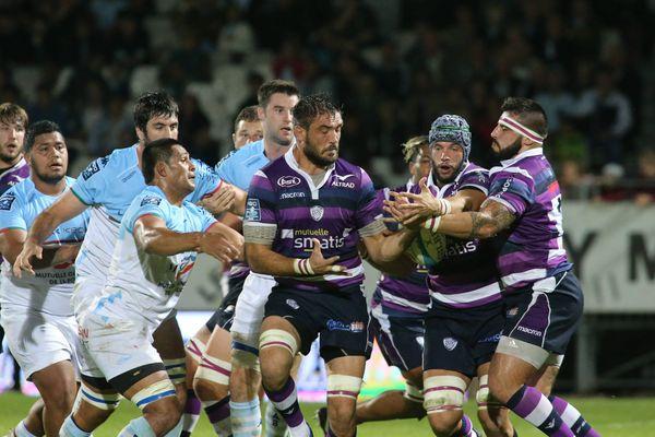 Rugby Pro D2 - Aviron Bayonnais / Angoulême - Archives 27 octobre 2017