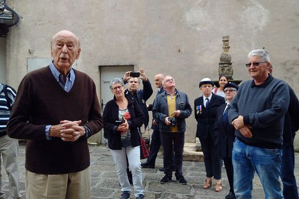 Le Président en guide touristique