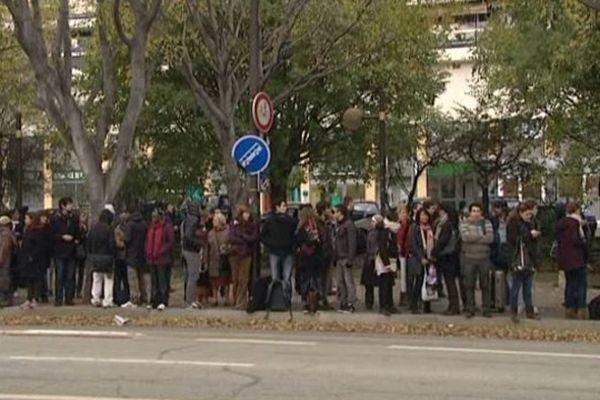Pratiquement aucun bus ne circule ce lundi matin dans Marseille