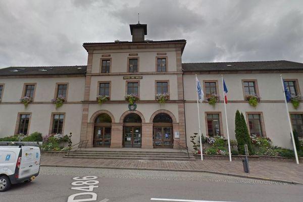 La mairie de Gérardmer (Vosges)
