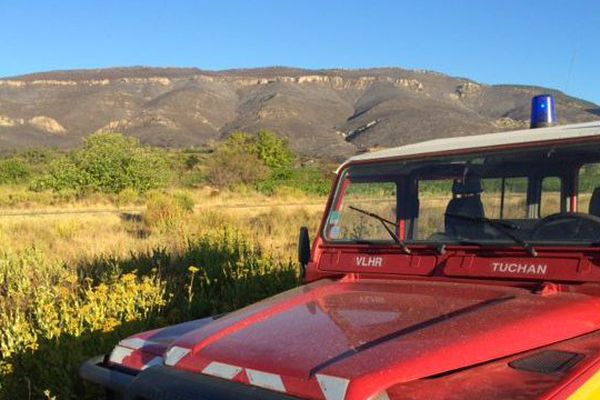 800 hectares du massif des Corbières ont brûlé dans le secteur de Tuchan