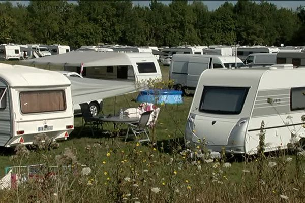Les gens du voyage se sont installés à Indre
