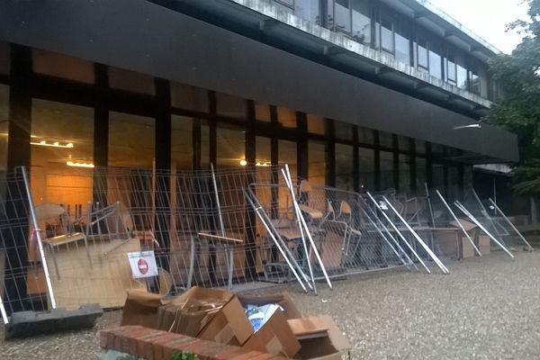 Le blocage à l'université Paul-Valéry se poursuit - 2018.