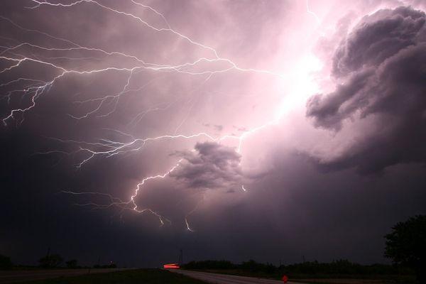 """Les quatre départements de la Franche-Comté étaient placés en vigilance orange """"orages"""", dimanche 18 août."""