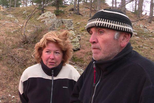 Gisou et Aldo, deux habitants de Casterino, hameau isolé.