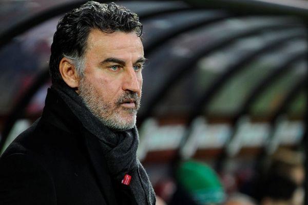 Christophe Galtier, entraîneur AS Saint-Etienne-