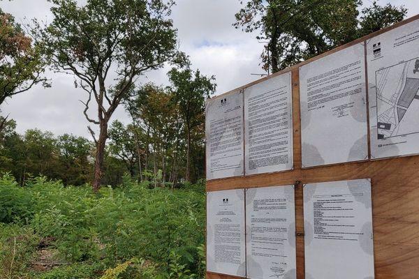 Site Centre de rétention Olivet