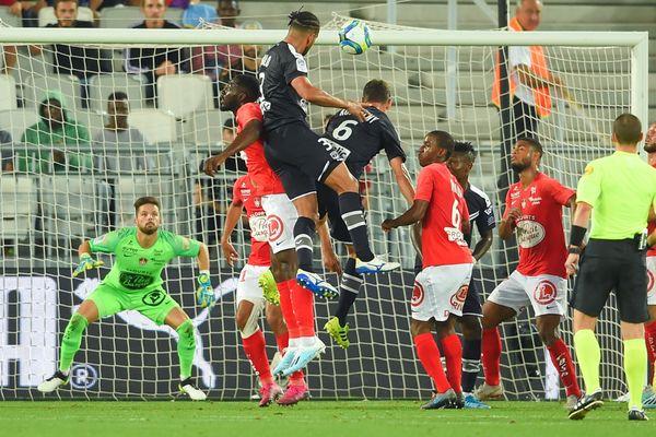 Pablo égalise de la tête (69e) et permet à Bordeaux d'arracher le nul face à Brest - 21 septembre 2019