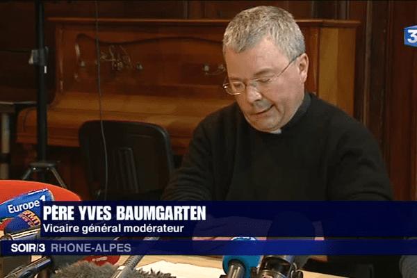 Yves Baumgarten, vicaire général modérateur du diocèse de Lyon - 25/4/16